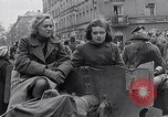 Image of German prisoners of war marched in Munich Munich Germany, 1945, second 56 stock footage video 65675040676