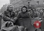 Image of German prisoners of war marched in Munich Munich Germany, 1945, second 58 stock footage video 65675040676