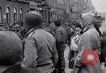 Image of German prisoners of war marched in Munich Munich Germany, 1945, second 60 stock footage video 65675040676