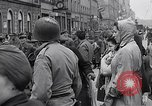 Image of German prisoners of war marched in Munich Munich Germany, 1945, second 61 stock footage video 65675040676