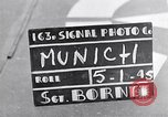 Image of German people gather fuel coal at end of War Munich Germany, 1945, second 2 stock footage video 65675040678