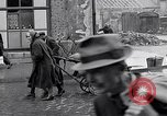 Image of German people gather fuel coal at end of War Munich Germany, 1945, second 25 stock footage video 65675040678
