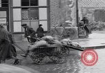 Image of German people gather fuel coal at end of War Munich Germany, 1945, second 26 stock footage video 65675040678