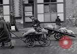 Image of German people gather fuel coal at end of War Munich Germany, 1945, second 27 stock footage video 65675040678