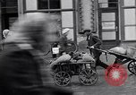 Image of German people gather fuel coal at end of War Munich Germany, 1945, second 28 stock footage video 65675040678