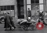 Image of German people gather fuel coal at end of War Munich Germany, 1945, second 29 stock footage video 65675040678