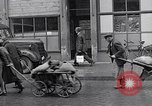 Image of German people gather fuel coal at end of War Munich Germany, 1945, second 30 stock footage video 65675040678