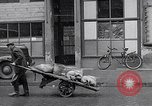 Image of German people gather fuel coal at end of War Munich Germany, 1945, second 33 stock footage video 65675040678