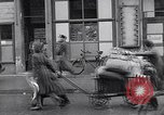 Image of German people gather fuel coal at end of War Munich Germany, 1945, second 36 stock footage video 65675040678