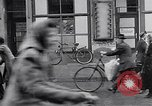 Image of German people gather fuel coal at end of War Munich Germany, 1945, second 39 stock footage video 65675040678