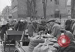 Image of German people gather fuel coal at end of War Munich Germany, 1945, second 40 stock footage video 65675040678