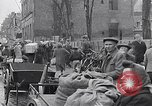 Image of German people gather fuel coal at end of War Munich Germany, 1945, second 41 stock footage video 65675040678