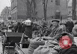 Image of German people gather fuel coal at end of War Munich Germany, 1945, second 42 stock footage video 65675040678