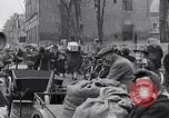 Image of German people gather fuel coal at end of War Munich Germany, 1945, second 46 stock footage video 65675040678