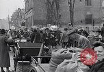 Image of German people gather fuel coal at end of War Munich Germany, 1945, second 48 stock footage video 65675040678