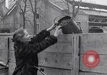 Image of German people gather fuel coal at end of War Munich Germany, 1945, second 61 stock footage video 65675040678