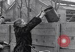 Image of German people gather fuel coal at end of War Munich Germany, 1945, second 62 stock footage video 65675040678