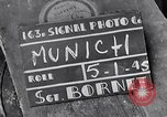 Image of German people Munich Germany, 1945, second 3 stock footage video 65675040679
