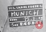 Image of German people gather fuel end World War 2 Munich Germany, 1945, second 1 stock footage video 65675040680