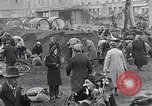 Image of German people gather fuel end World War 2 Munich Germany, 1945, second 12 stock footage video 65675040680