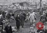 Image of German people gather fuel end World War 2 Munich Germany, 1945, second 15 stock footage video 65675040680
