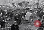 Image of German people gather fuel end World War 2 Munich Germany, 1945, second 16 stock footage video 65675040680