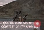 Image of American troops capture the Ludendorff Bridge over Rhine River Remagen Germany, 1945, second 31 stock footage video 65675040699