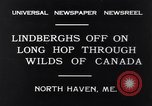 Image of Charles Lindbergh North Haven Maine USA, 1931, second 4 stock footage video 65675040722