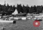 Image of Charles Lindbergh North Haven Maine USA, 1931, second 23 stock footage video 65675040722