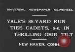 Image of Football match New Haven Connecticut USA, 1931, second 3 stock footage video 65675040747