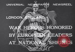 Image of King George V London England United Kingdom, 1932, second 2 stock footage video 65675040748