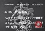 Image of King George V London England United Kingdom, 1932, second 4 stock footage video 65675040748