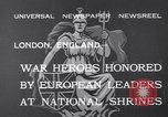 Image of King George V London England United Kingdom, 1932, second 5 stock footage video 65675040748