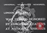 Image of King George V London England United Kingdom, 1932, second 7 stock footage video 65675040748