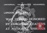 Image of King George V London England United Kingdom, 1932, second 8 stock footage video 65675040748