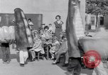 Image of Giant models of vegetables Hawthorne California USA, 1932, second 47 stock footage video 65675040751