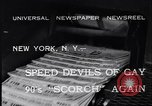 Image of riding bicycles New York City USA, 1932, second 6 stock footage video 65675040752