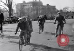 Image of riding bicycles New York City USA, 1932, second 8 stock footage video 65675040752