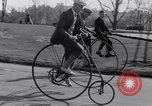 Image of riding bicycles New York City USA, 1932, second 12 stock footage video 65675040752