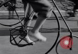 Image of riding bicycles New York City USA, 1932, second 15 stock footage video 65675040752