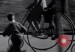 Image of riding bicycles New York City USA, 1932, second 17 stock footage video 65675040752