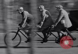 Image of riding bicycles New York City USA, 1932, second 30 stock footage video 65675040752