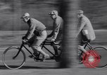 Image of riding bicycles New York City USA, 1932, second 31 stock footage video 65675040752