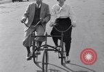 Image of riding bicycles New York City USA, 1932, second 32 stock footage video 65675040752