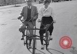 Image of riding bicycles New York City USA, 1932, second 35 stock footage video 65675040752