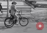Image of riding bicycles New York City USA, 1932, second 37 stock footage video 65675040752