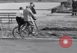 Image of riding bicycles New York City USA, 1932, second 39 stock footage video 65675040752