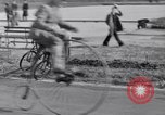 Image of riding bicycles New York City USA, 1932, second 40 stock footage video 65675040752