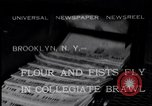 Image of Annual battle Brooklyn New York City USA, 1932, second 1 stock footage video 65675040753