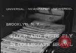 Image of Annual battle Brooklyn New York City USA, 1932, second 3 stock footage video 65675040753